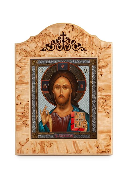 Икона в окладе «Спаситель»
