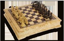 Подарочный набор шахмат.
