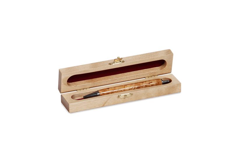 Ручка в деревянном футляре