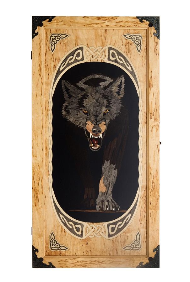 Нарды Волк (большие)