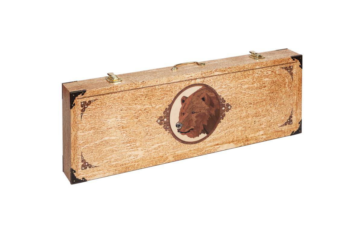 Набор шампуров в чемоданчике